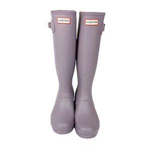 Hunter Tall Thunder Cloud Rain Boots Size 7